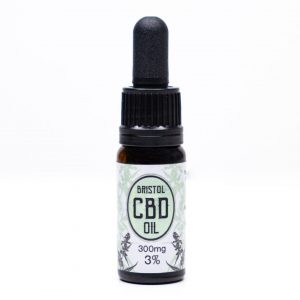 300mg 3% Bristol CBD Oil, Front