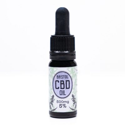500mg 5% Bristol CBD Oil, Front