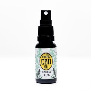 10% Gold CBD oil spray (2000mg CBD in 20ml)