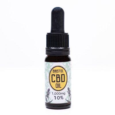 10% Gold Bristol CBD Oil - 10ml Dropper