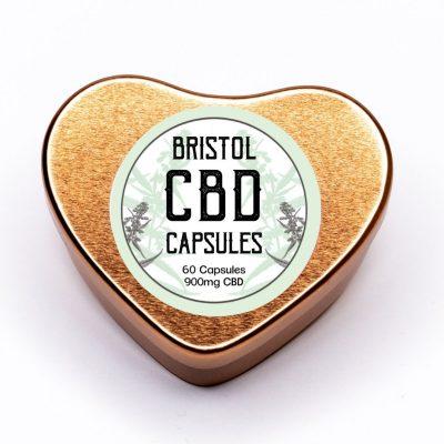 Organic CBD Oil Capsules (Front Label)