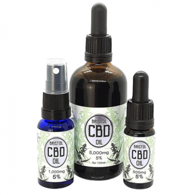 Bristol CBD - 5% CBD Oil Group Image