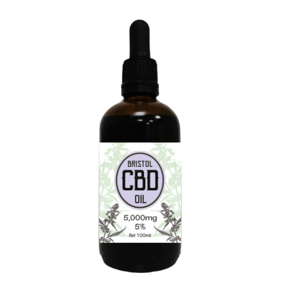 5% 100ml Whole plant Bristol CBD Dropper