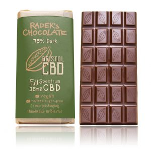 DARK CBD CHOCOLATE LARGE