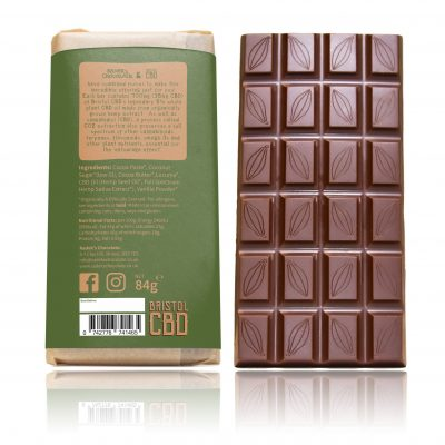 DARK CBD CHOCOLATE LARGE BACK