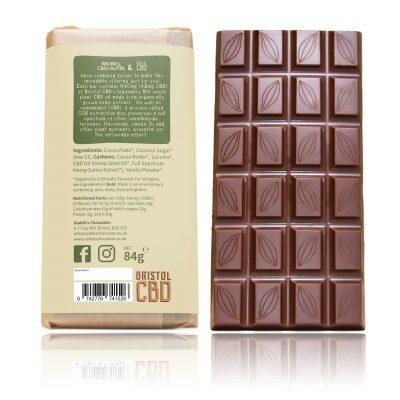 CASHEW MiLK CBD Chocolate BACK