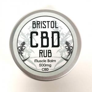 CBD Skin & Muscle Rub. 500mg CBD in 50ml pot